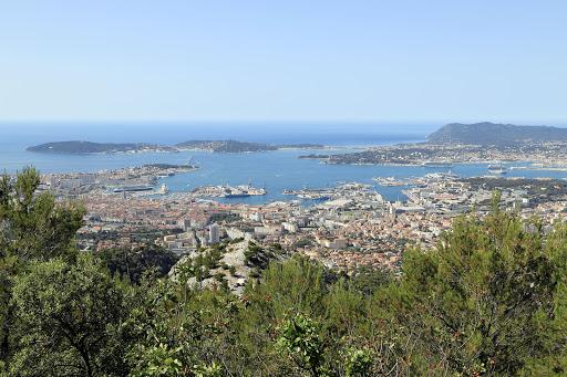 Visit Toulon on France's Mediterranean coast.
