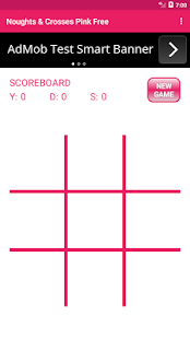Noughts & Crosses Pink Free - náhled