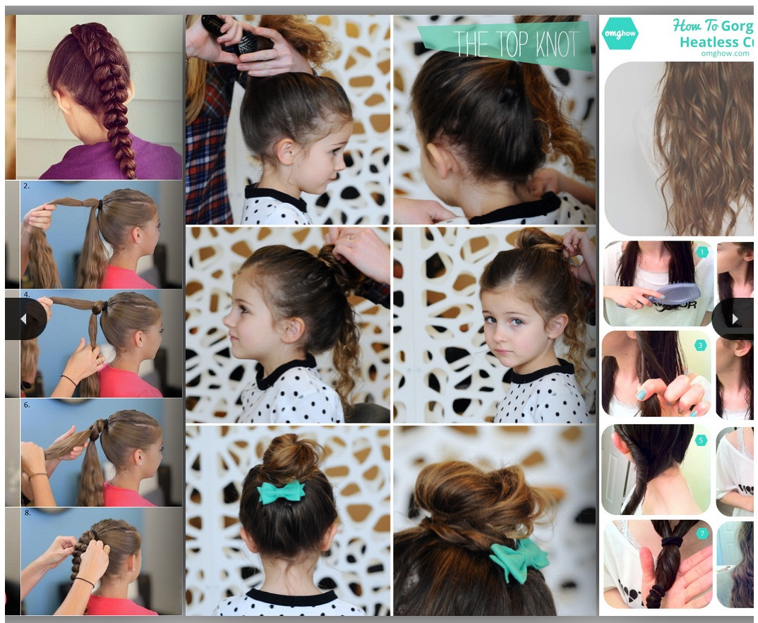 Amazing Easy Little Girl Hairstyles Android Apps On Google Play Short Hairstyles Gunalazisus