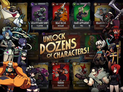 Skullgirls APK screenshot thumbnail 13