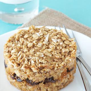 Fig Bar Baked Oatmeal.