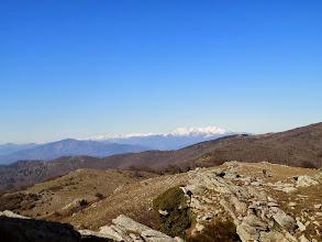 Photo: le Canigou au loin