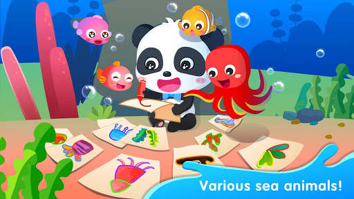 Baby Panda's Drawing Book - Painting for Kids screenshot 5