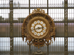 Photo: The clock as it was in the old train station.