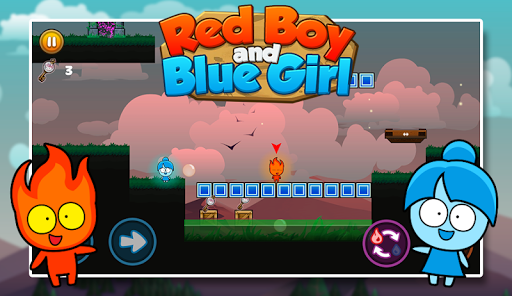 Red boy and Blue girl - Forest Temple Maze modavailable screenshots 4