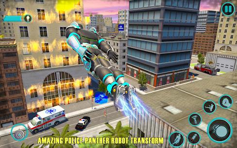 Flying Panther Robot Hero Fighting Game 4