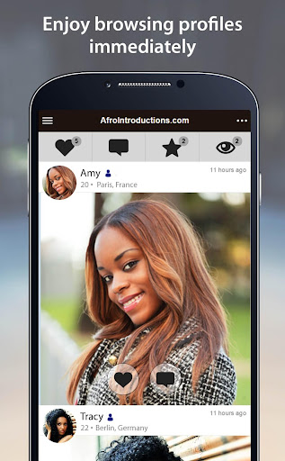 AfroIntroductions - African Dating App 3.1.6.2440 screenshots 2