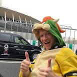Tokyo 2020 in Mario Karts in Tokyo, Tokyo, Japan
