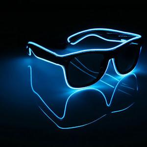 Ochelari Party cu LED si 3 faze de lumina
