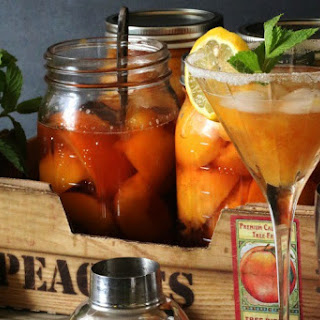 Bourbon Peach Smash Recipe