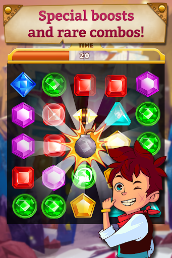 Jewel Mania: Sunken Treasures Screenshot