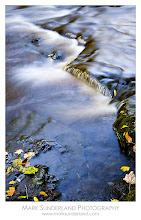 Photo: Walden Beck  During an autumn shoot at West Burton Waterfall in Wensleydale, I noticed the zig-zag shape of this tiny waterfall at my feet when I was photographing the main falls, and it made a great subject in itself.  Canon EOS 5D, 24-105mm at 50mm, ISO 100, 3.2s at f22