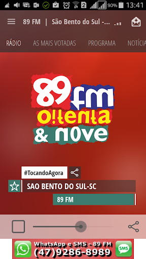 89 FM São Bento do Sul - SC