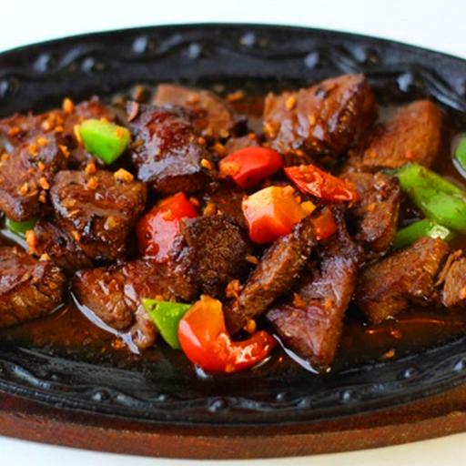 Beef Salpicado Rice Combo