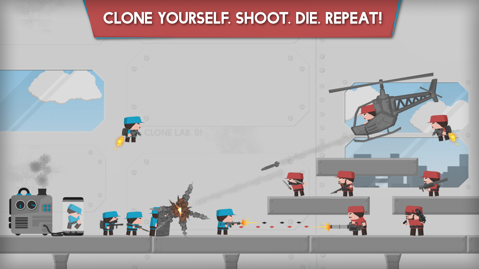 Clone Armies- screenshot