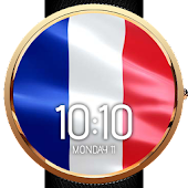 Animated French Flag WatchFace