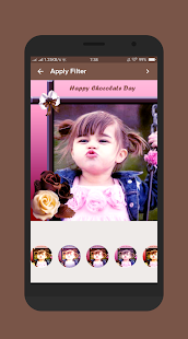 Chocolate Day Photo Frames 2018 - náhled