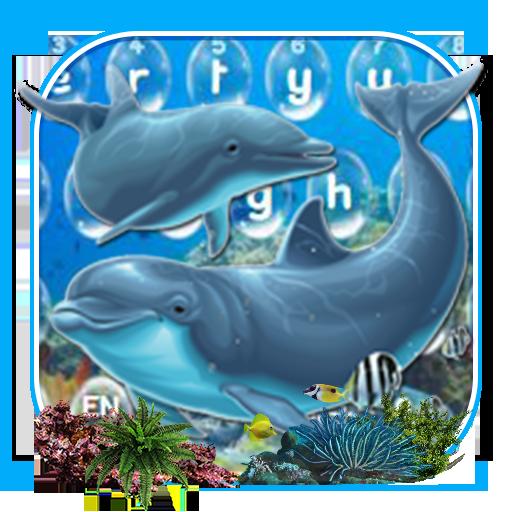 Dolphin Sea Keyboard Theme