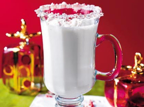 Creamy Holiday Peppermint Punch Recipe