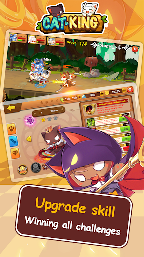 Cat King -  Battle Dog Wars: RPG Summoner 1.0 screenshots 2