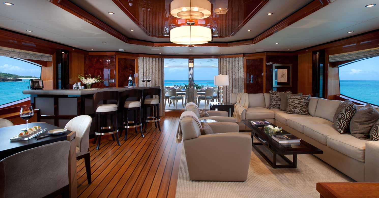Sketch of Stateroom in a Superyacht
