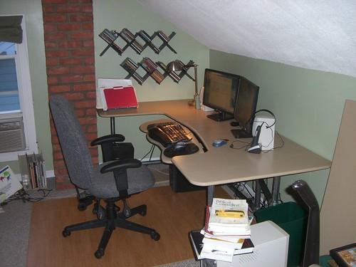 Planos de escritorio para computadora: plan de escritorio ergonómico para computadora que puede hacer usted mismo
