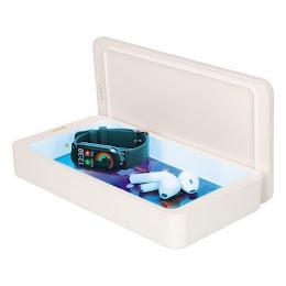 Cutie de sterilizare UV pentru telefon, casti, KSIX ALB