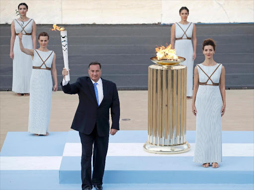795c131f4040 Brazil receives Olympic flame for Rio Games