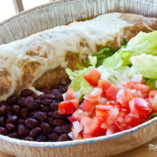 Cafe Rio Style Smothered Burrito