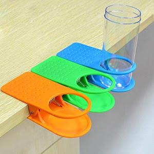 Set 2 x Suport de pahar tip cleste cu prindere de masa