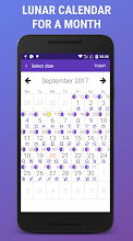 Lunar Calendar 2018 - Daily Moon screenshot thumbnail