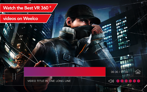 Weelco VR - Watch, Upload and Share 360 Videos- screenshot thumbnail