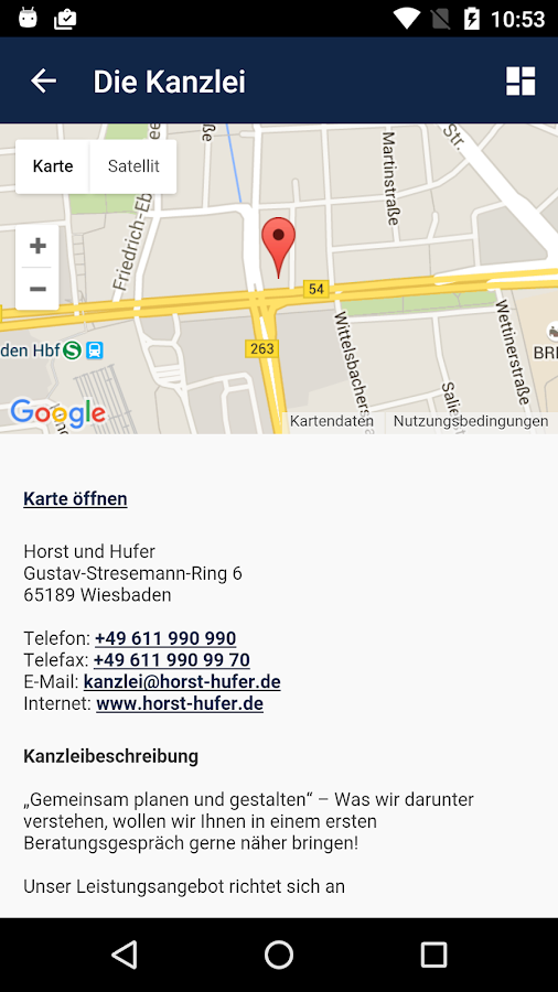 Horst und Hufer Stb- screenshot