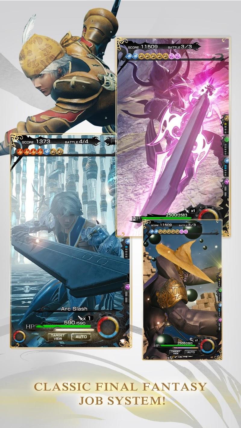 MOBIUS FINAL  FANTASY Screenshot 3