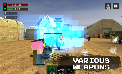 Pixel Z Hunter2 3D - World Battle Survival TPS - screenshot