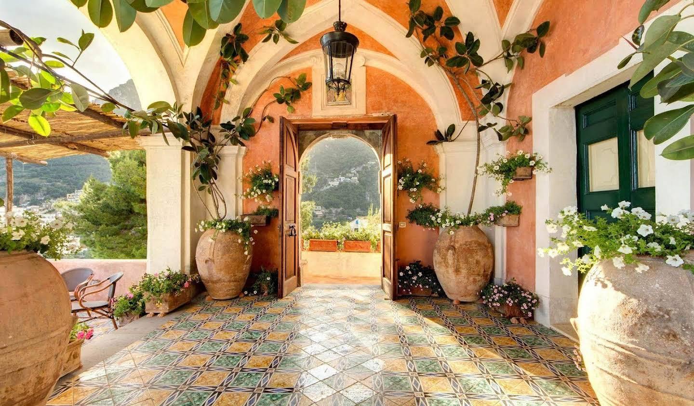 Villa with pool Positano