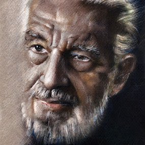 Portrait drawing by Daliana Pacuraru - Drawing All Drawing ( pastels, face, photographis, portrait, drawing, daliana, man )