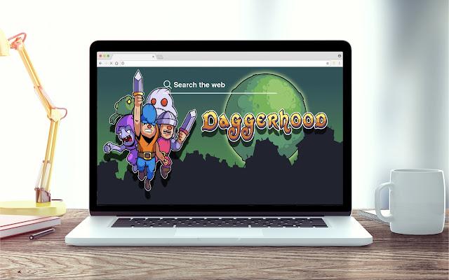 Daggerhood New Tab Game Theme