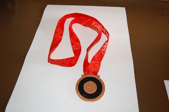 Photo: 2008 OL-bronzemedalje bagside