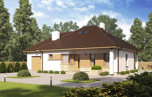 projekt D137 wersja drewniana