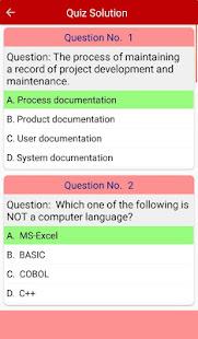 Download Computer Basics MCQs For PC Windows and Mac apk screenshot 8