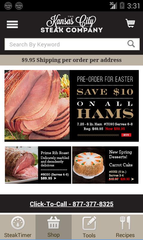 Steak Timer & Recipes - Free - screenshot