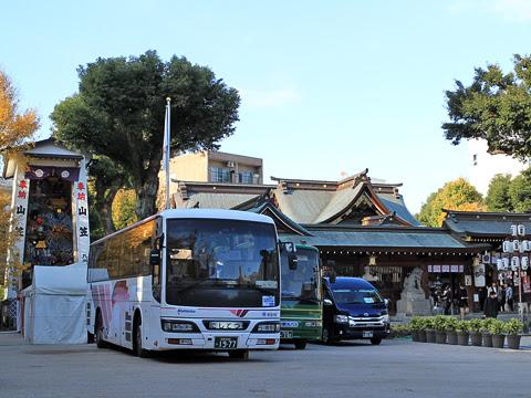 西鉄「フェニックス号」 6016 櫛田神社にて