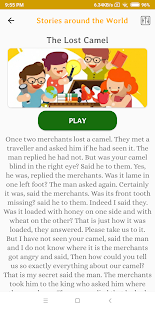 Storybook For Kids - English with Audio (Pro) Screenshot