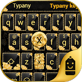 Gold Rose Theme Keyboard Android APK Download Free By Best Keyboard Theme Design