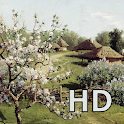 Landscape painting HD icon