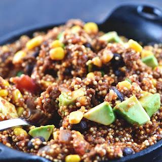 One Pot Mexican Quinoa.