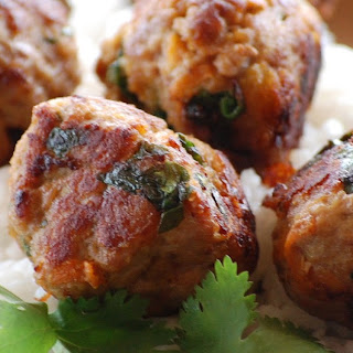 Satay Turkey Meatballs