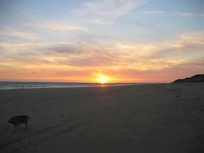 Photo: coucher de soleil plage des Gollandiéres(le Bois Plage)