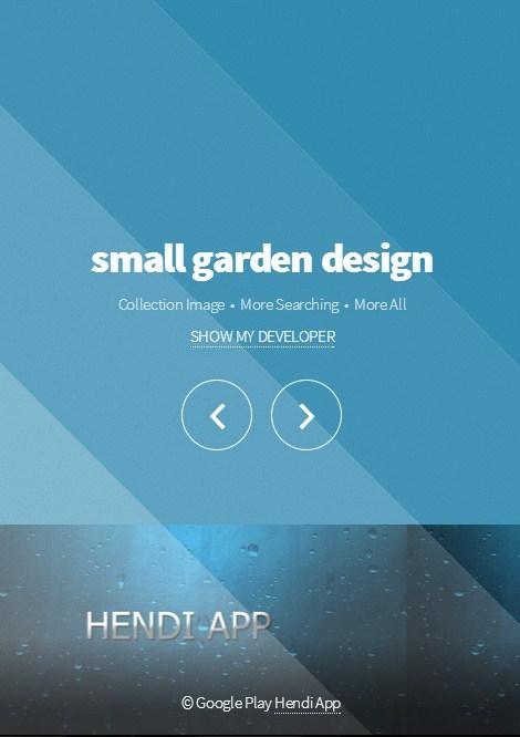 Small Garden Design - Android Apps On Google Play